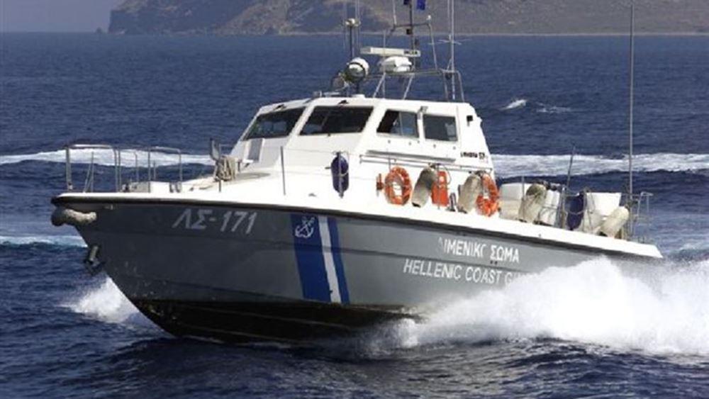 Επιχείρηση του Λιμενικού για τον εντοπισμό μέλους πληρώματος πλοίου που έπεσε στη θάλασσα μεταξύ Ταινάρου και Κυθήρων