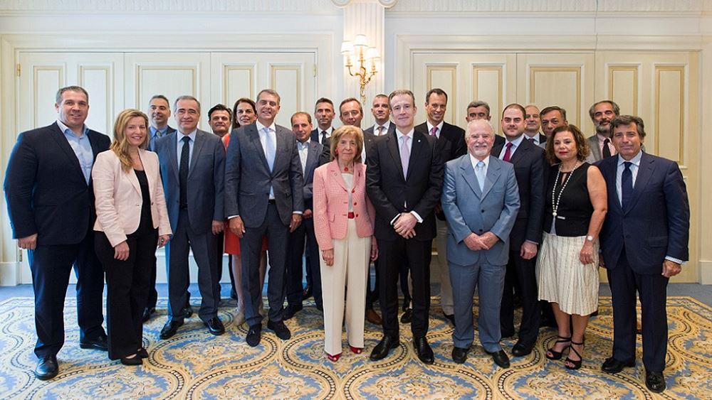 Η νέα Διοικούσα Επιτροπή και το Δ.Σ. του Ελληνο-Αμερικανικού Επιμελητηρίου