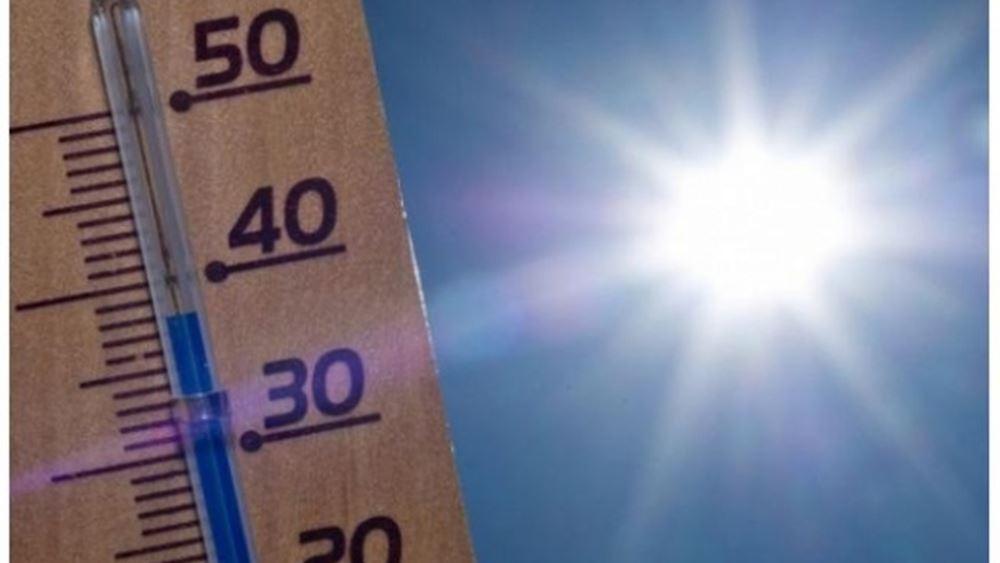 Θερμοκρασίες έως 39 βαθμοί και άνεμοι έως επτά μποφόρ την Τετάρτη, σύμφωνα με το meteo του Αστεροσκοπείου