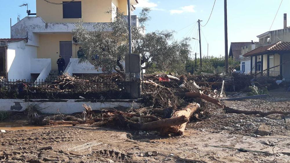 Κινέτα: Ζημιές σε περισσότερα από 300 σπίτια