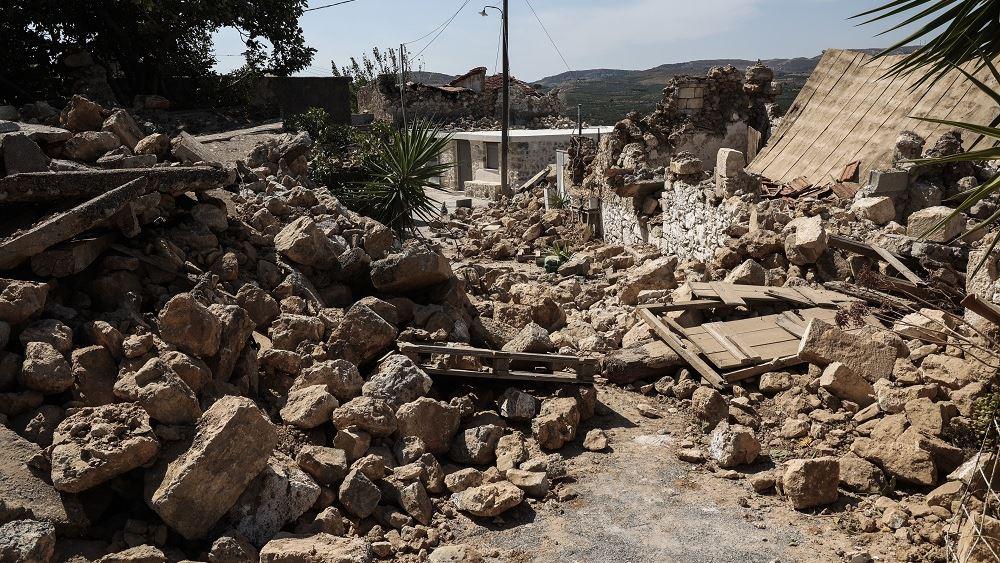 Χρηματοδότηση 1 εκατ. ευρώ στους δύο Δήμους που επλήγησαν από τον σεισμό στην Κρήτη
