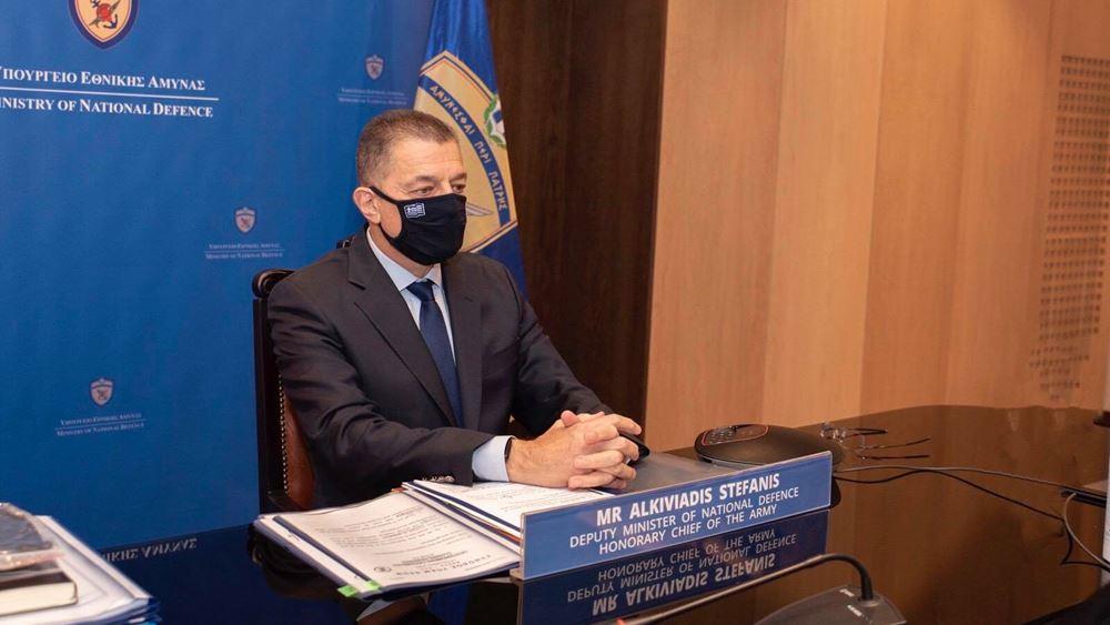 Ο Αλκιβιάδης Στεφανής στην ετήσια σύνοδο των υπουργών Άμυνας της ΝΑ Ευρώπης
