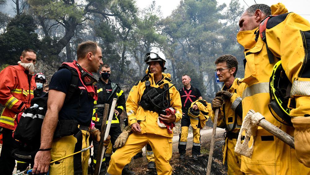 Πολιτική Προστασία: Σημαντική ενίσχυσηαπό την ΕΕ και τη διεθνή κοινότητα για την αντιμετώπιση των πυρκαγιών