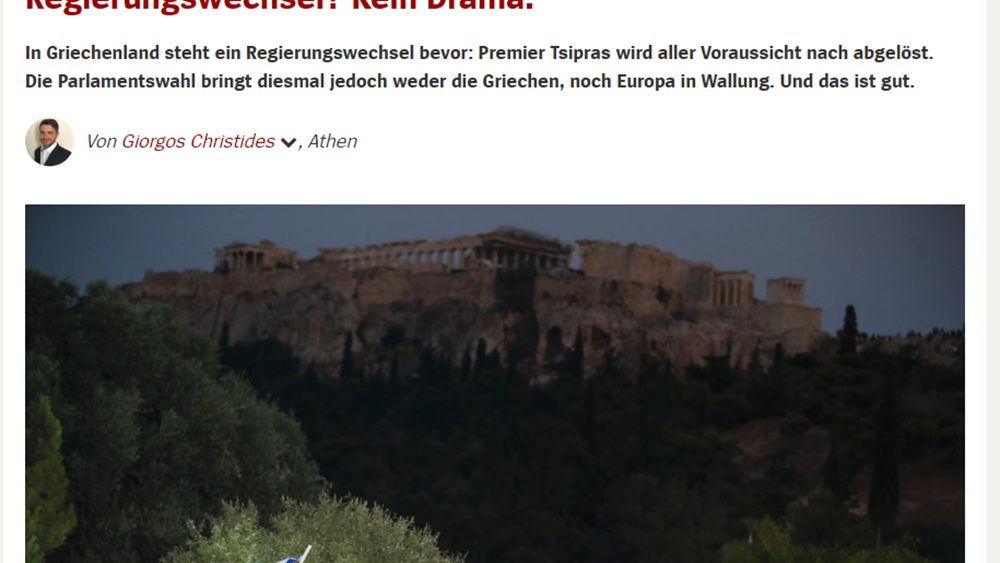 Spiegel: Μόνο με ένα θαύμα θα αποτρέψει ο Τσίπρας την ήττα του ΣΥΡΙΖΑ