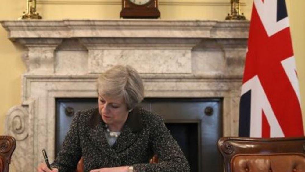 """Η Theresa May απορρίπτει τον """"χάρτη"""" των Βρυξελλών για το Brexit"""