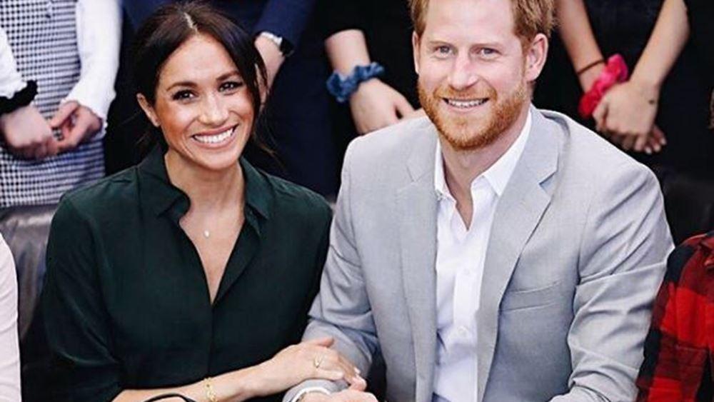 Βρετανία: Βαπτίστηκε ο Άρτσι, παιδί του πρίγκιπα Χάρι και της συζύγου του, Μέγκαν