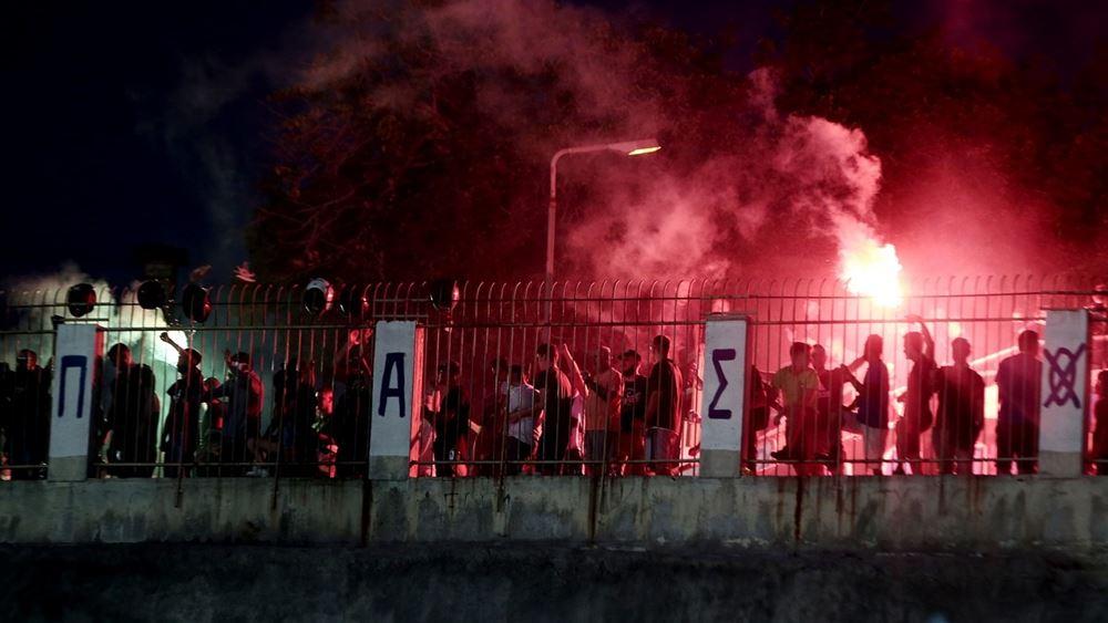 Δύο αστυνομικοί τραυματίες και ένα άτομο συνελήφθη σε επεισόδια μετά τη λήξη ποδοσφαιρικού αγώνα στην Καλλιθέα