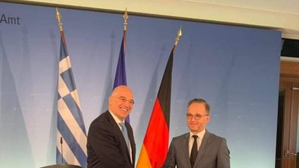 Στην Αθήνα ο Γερμανός υπουργός Εξωτερικών Μάας την Τρίτη 21 Ιουλίου