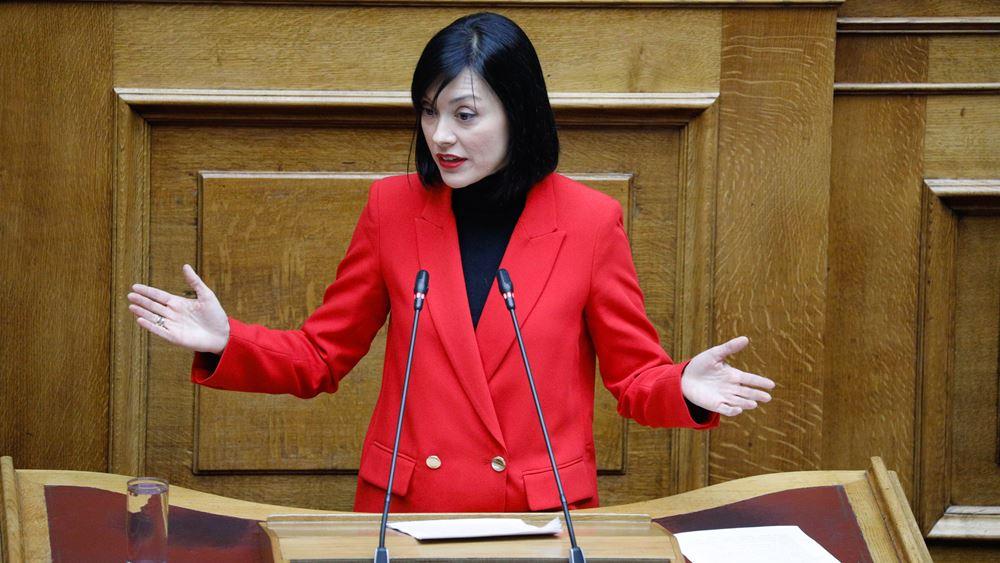 """Γιαννακοπούλου: """"Είμαστε εδώ, είμαστε δύναμη σοβαρής και υπεύθυνης αντιπολίτευσης"""""""