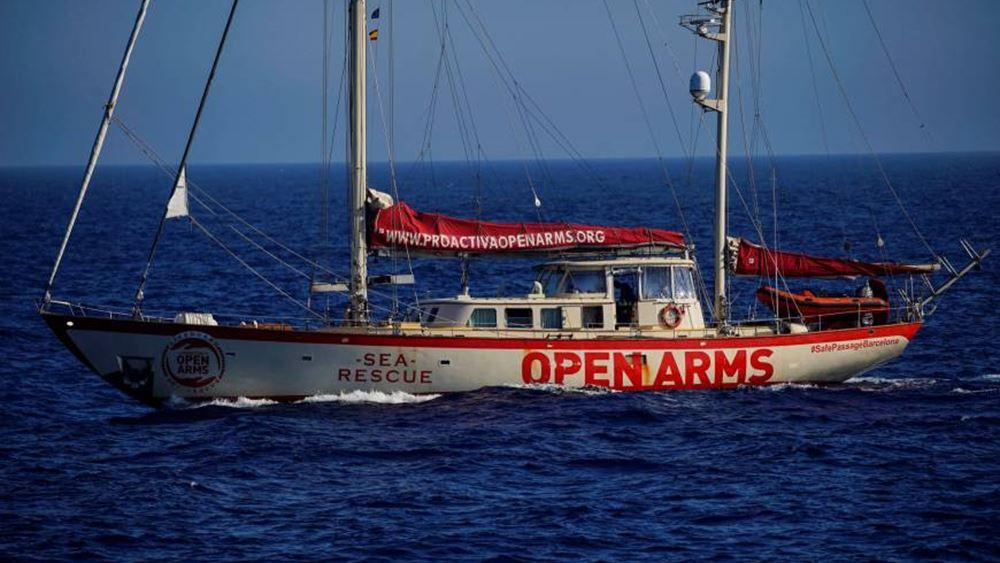 Ιταλία: Άμεση αποβίβαση των μεταναστών από στο πλοίο της Open Arms διέταξε η εισαγγελία
