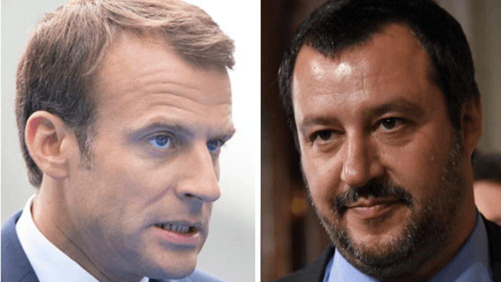 FT: Μακρόν εναντίον Σαλβίνι - Μάχη για το πολιτικό μέλλον της Ευρώπης