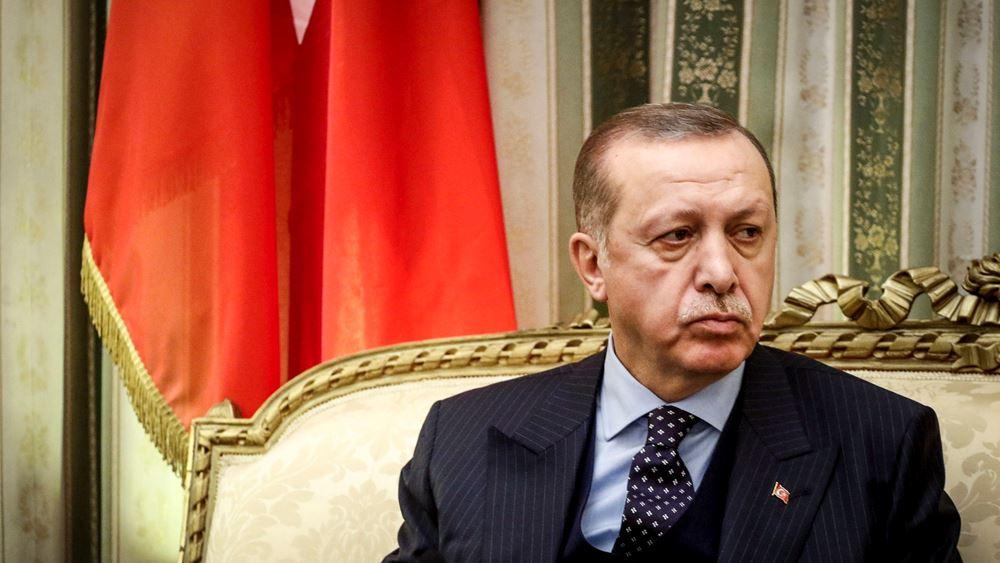 Ερντογάν: Η Τουρκία δεν ιδρύθηκε εναντίον ενός μικρού κράτους όπως η Ελλάδα