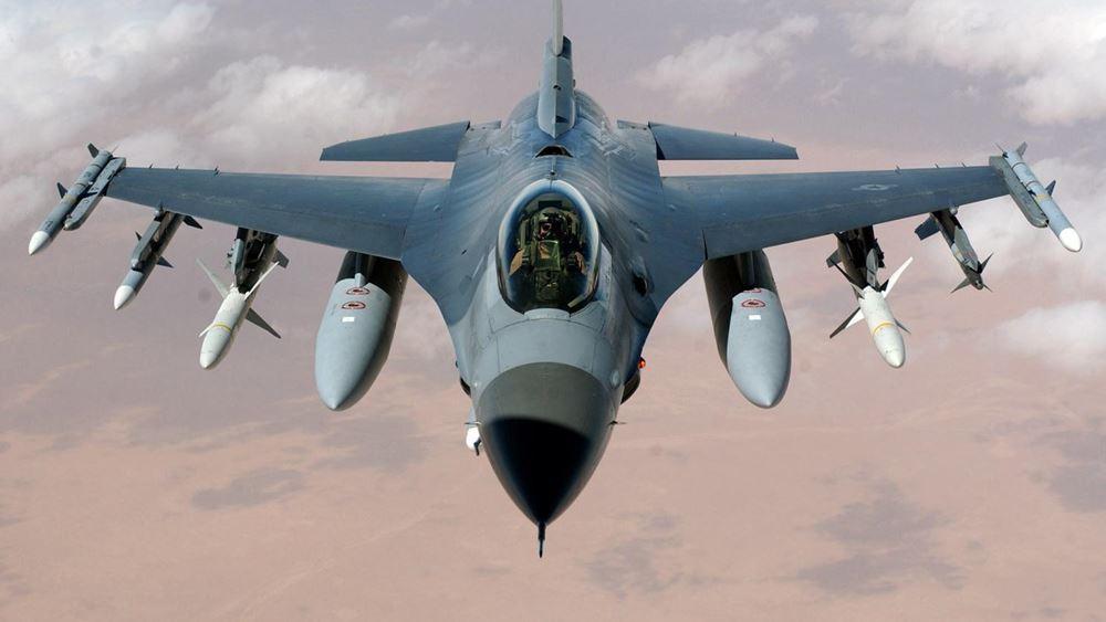 """Κέρκυρα: """"Βρόντηξαν"""" οι ουρανοί από τις πτήσεις των F16 για την επέτειο των 156 χρόνων της Ένωσης των Επτανήσων με την Ελλάδα"""