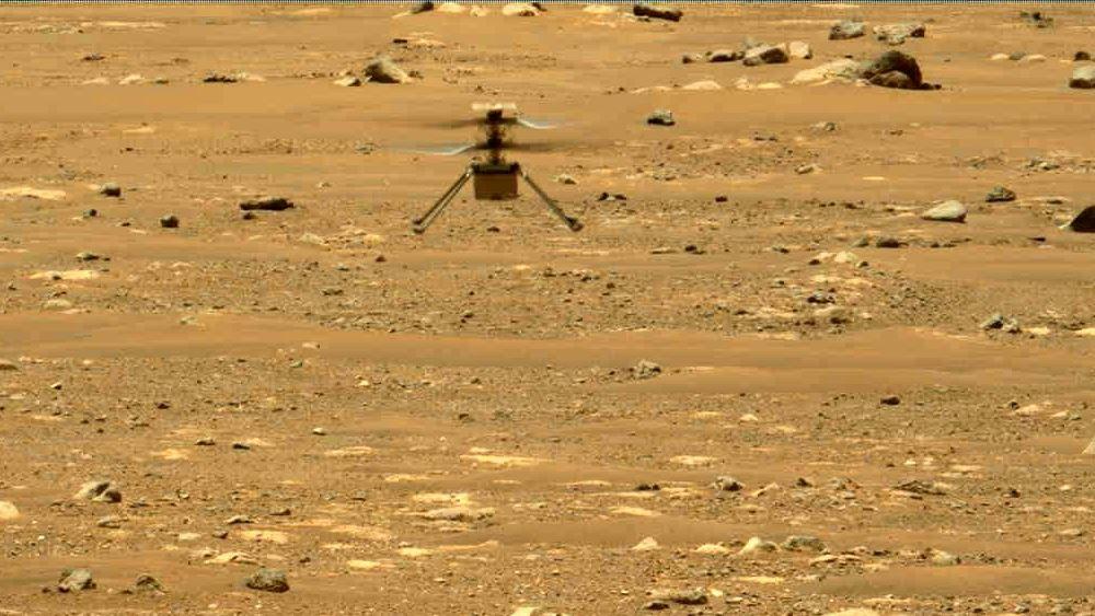 Δεύτερη πτήση του ελικοπτέρου Ingenuity της NASA στον Άρη