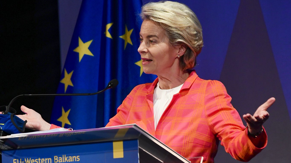 Φον ντερ Λάιεν: Πλήρης στήριξη στις ενταξιακές διαπραγματεύσεις της Βόρειας Μακεδονίας