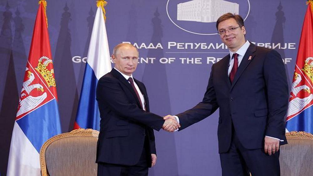 Σερβία: Περισσότερες από 20 συμφωνίες υπεγράφησαν κατά την επίσκεψη Πούτιν
