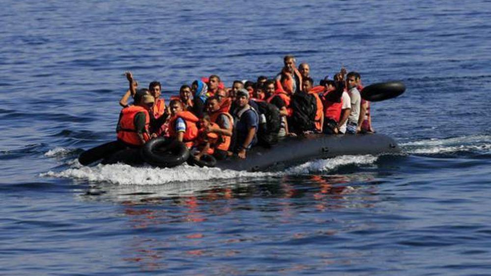 Ελαφρά μειωμένες οι προσφυγικές ροές προς τα νησιά του βορείου Αιγαίου