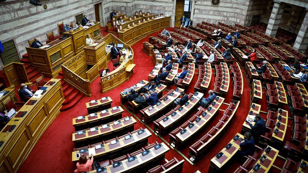 Boυλή: Για δεύτερη ημέρα συνεχίζεται σήμερα η συζήτηση του σχεδίου νόμου του Υπουργείου Εργασίας