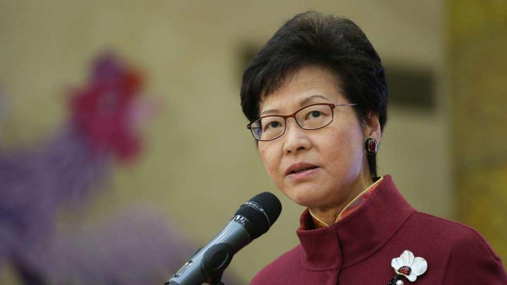 Χονγκ Κονγκ: Την επιθυμία της για διάλογο με τους πολίτες εξέφρασε η Κάρι Λαμ
