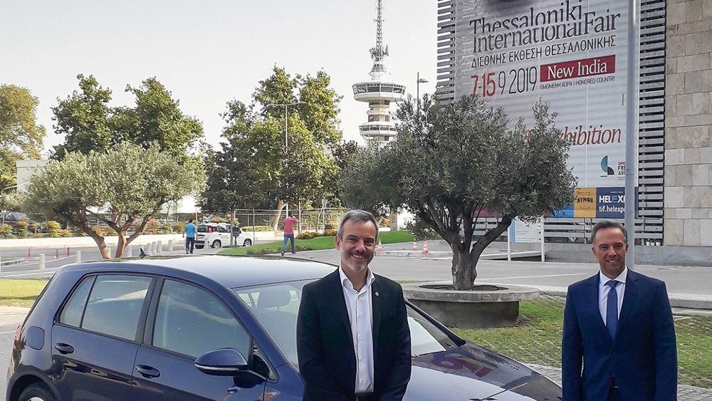 Ένα Volkswagen e-Golf στο νέο Δήμαρχο Θεσσαλονίκης για τις μετακινήσεις του