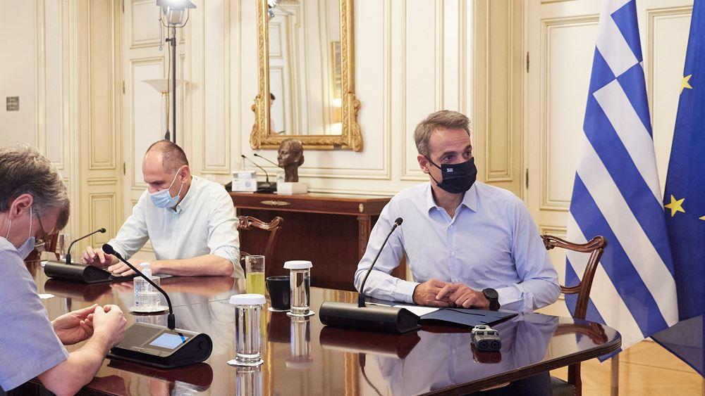 Κυρ. Μητσοτάκης: Νέα μέτρα για τον κορονοϊό εντός της ημέρας