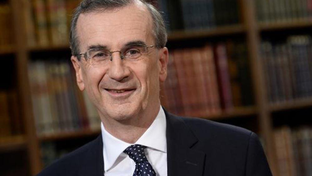 Villeroy de Galhau: Η ΕΚΤ δεν θα πρέπει να εξαρτάται τόσο πολύ από τις αγορές για τον πληθωρισμό