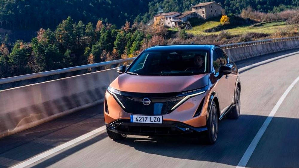 To πιο αεροδυναμικό crossover της Nissan είναι το Ariya