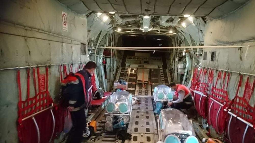 Με επιτυχία ολοκληρώθηκε η αεροδιακομιδή τριών διασωληνωμένων από τη Δράμα στην Αθήνα