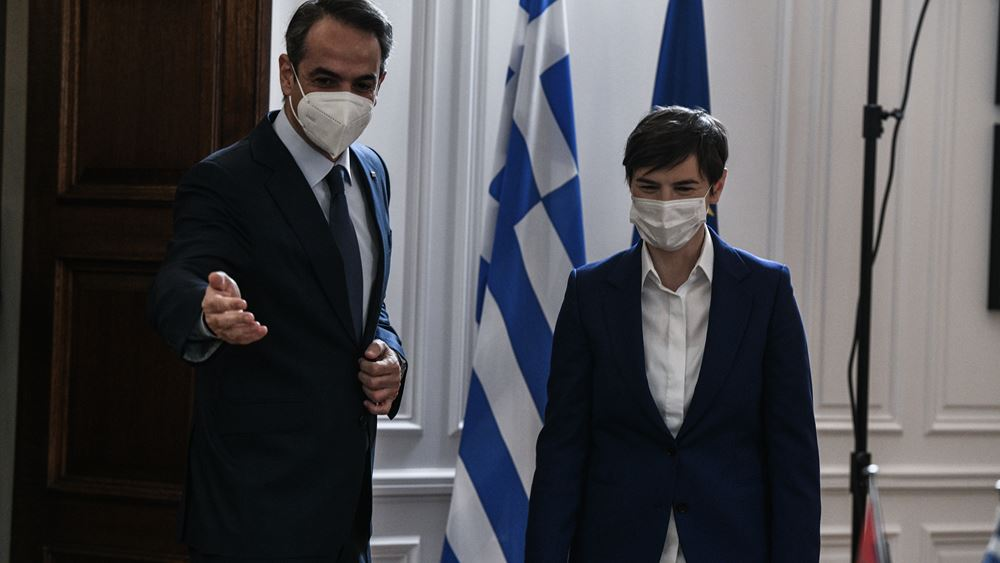 """Πρωθυπουργός Σερβίας: """"Πολύ ασφαλής η διαμονή των τουριστών στην Ελλάδα"""""""