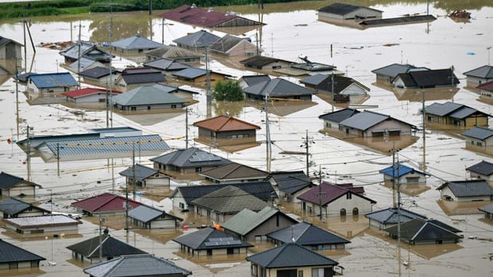 Ιαπωνία: Στους 74 νεκρούς αυξήθηκαν τα θύματα απ' πλήγμα του τυφώνα Χαγκίμπις