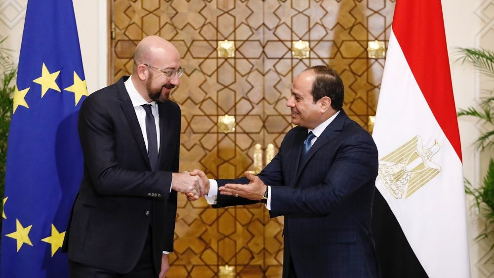 Υπέρ της πολιτικής επίλυσης της κρίσης στη Λιβύη τάχθηκε ο Σαρλ Μισέλ