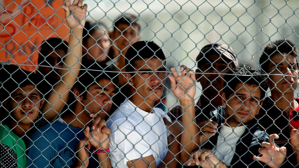 Γενική απεργία τη Δευτέρα στη Λέσβο για το προσφυγικό