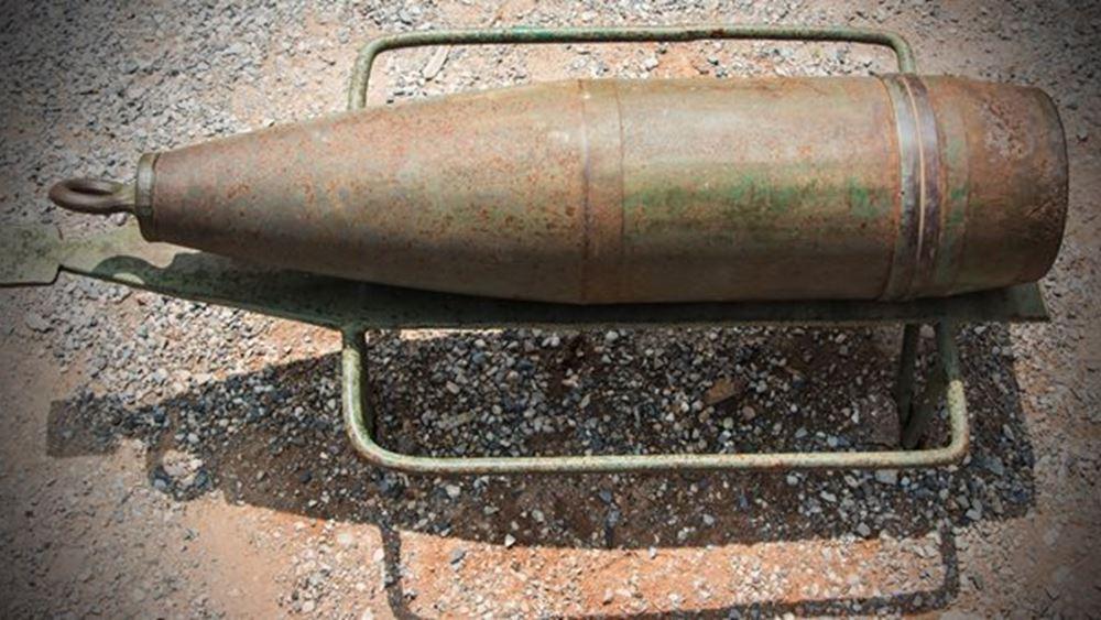 Ελεγχόμενη έκρηξη βλήματος του Β' Παγκοσμίου στη Γλυφάδα