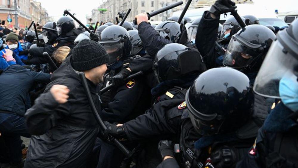 Ρωσία: Η αστυνομία συνέλαβε υποστηρικτές του Α. Ναβάλνι