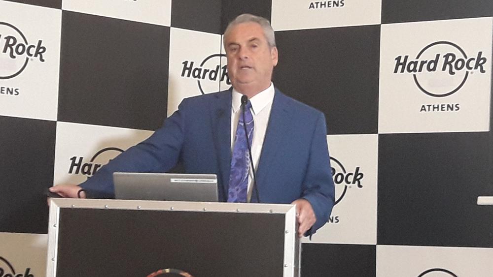 Jim Allen: (Ηard Rock International): Φιλοδοξούμε να υλοποιήσουμε μια μοναδική επένδυση στην Αθήνα