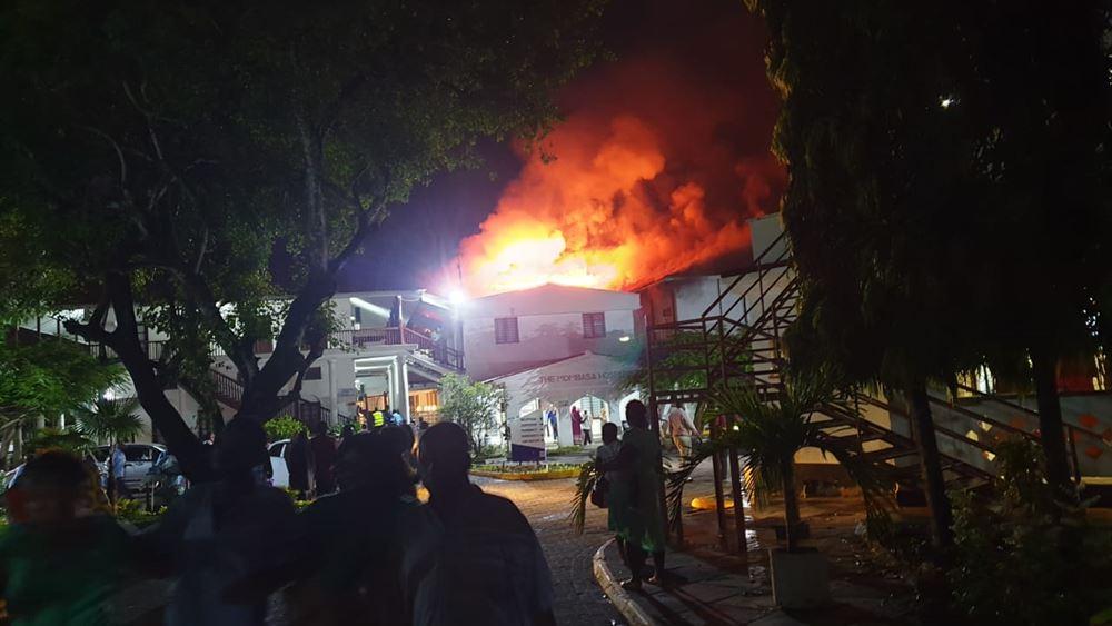 Στις φλόγες το παλαιότερο νοσοκομείο της Μομπάσα