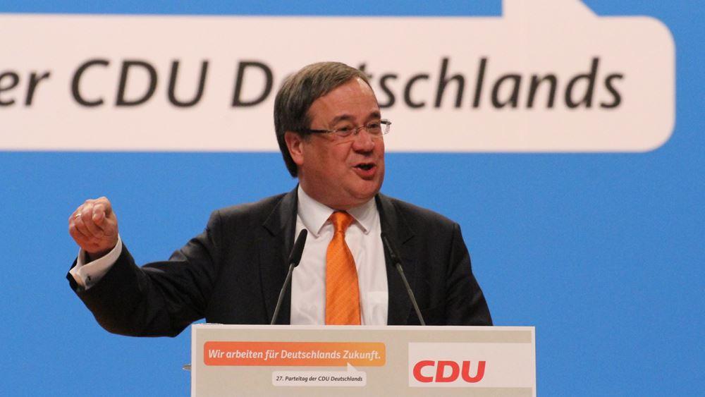Γερμανία-δημοσκόπηση: O Laschet επικρατέστερος υποψήφιος Καγκελάριος από το CDU