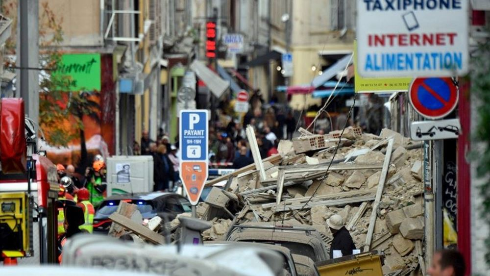 Μασσαλία: Έκτος νεκρός στα ερείπια των τριών κτιρίων που κατέρρευσαν