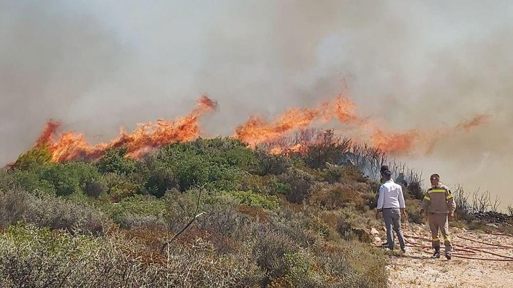 Πυρκαγιά στο χωριό Αγία Μαρίνα Ζακύνθου