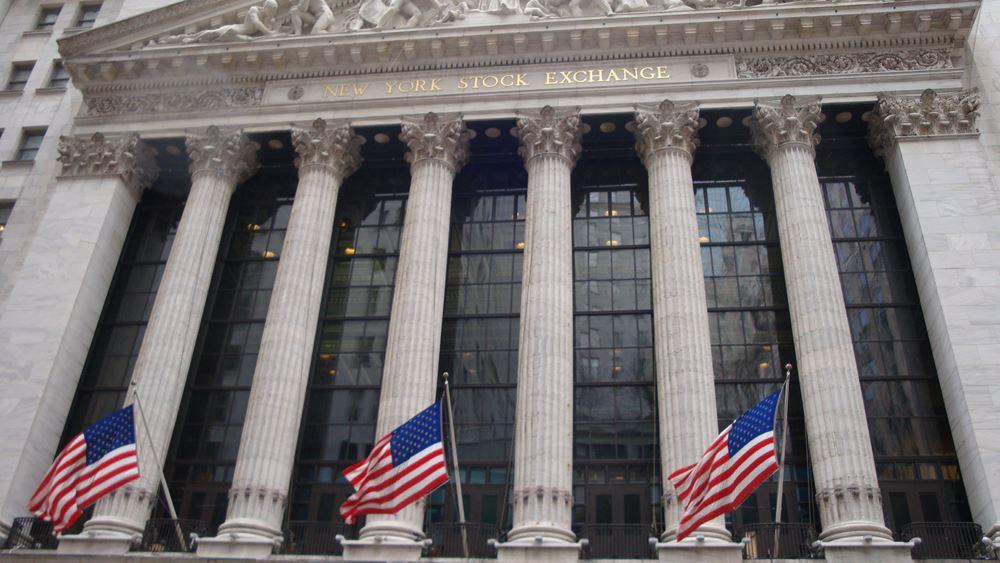"Wall Street: Απομάκρυνση από τα ρεκόρ δείχνουν τα futures, ""βουτιά"" 100 μονάδων για τα futures του Dow"
