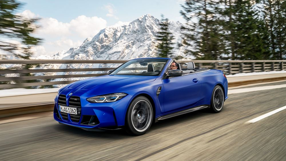 Η νέα BMW M4 Competition Cabrio με M xDrive
