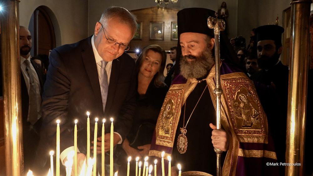 Για πρώτη φορά Αυστραλός Πρωθυπουργός κάνει Πάσχα με τους Έλληνες ομογενείς