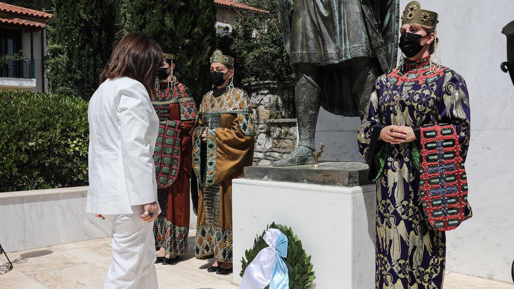Κ. Σακελλαροπούλου: Επίσκεψη της ΠτΔ στον Μυστρά