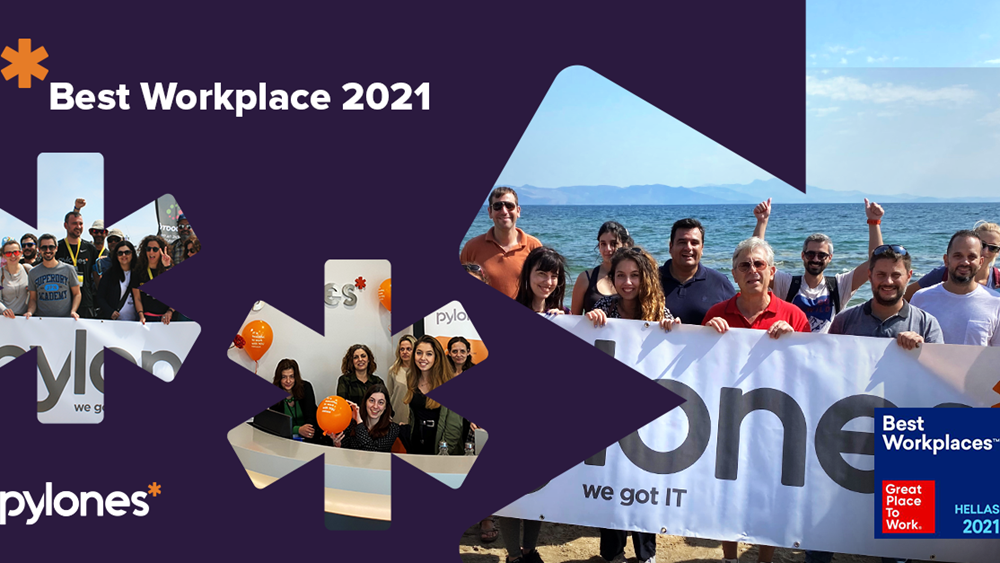 """Best Workplace"" για το 2021 αναδείχθηκε η Pylones Hellas"