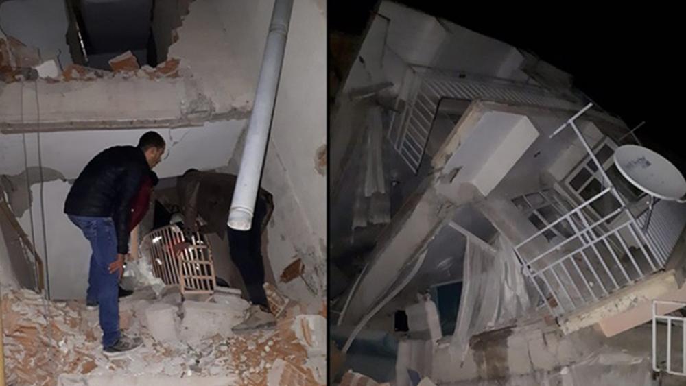 Σεισμός στην Τουρκία: Τουλάχιστον 18 νεκροί και 553 τραυματίες λέει το Υπουργείο Υγείας