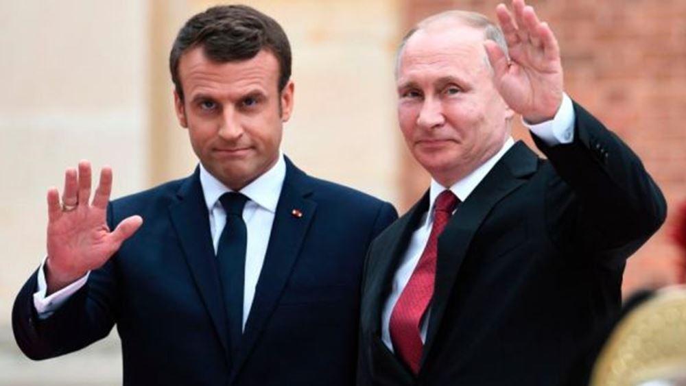 Συνάντηση Μακρόν-Πούτιν στη Γαλλία