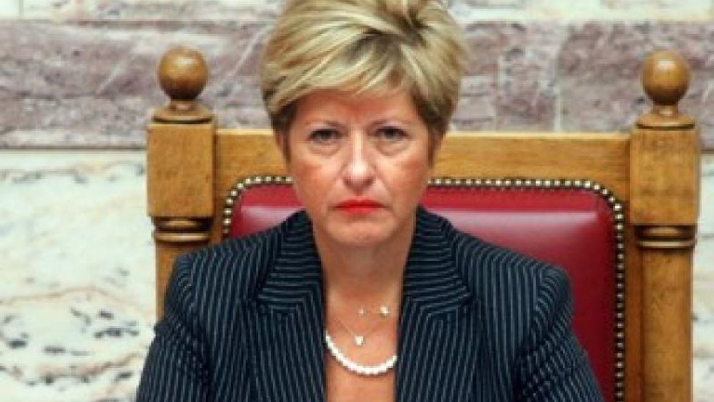 """Μαρία Κόλλια-Τσαρουχά: Δεν δεχόμαστε καμία συμφωνία κάτω από το κίβδηλο όνομα """"Μακεδονία"""""""