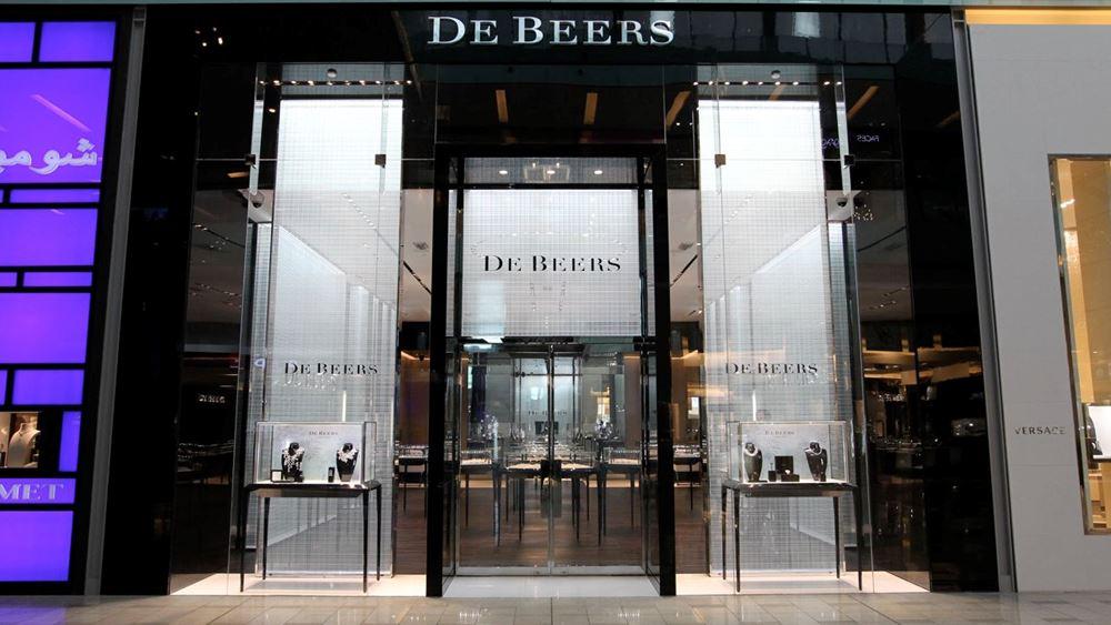 Anglo American: Αυξήθηκαν 52% οι πωλήσεις διαμαντιών της De Beers