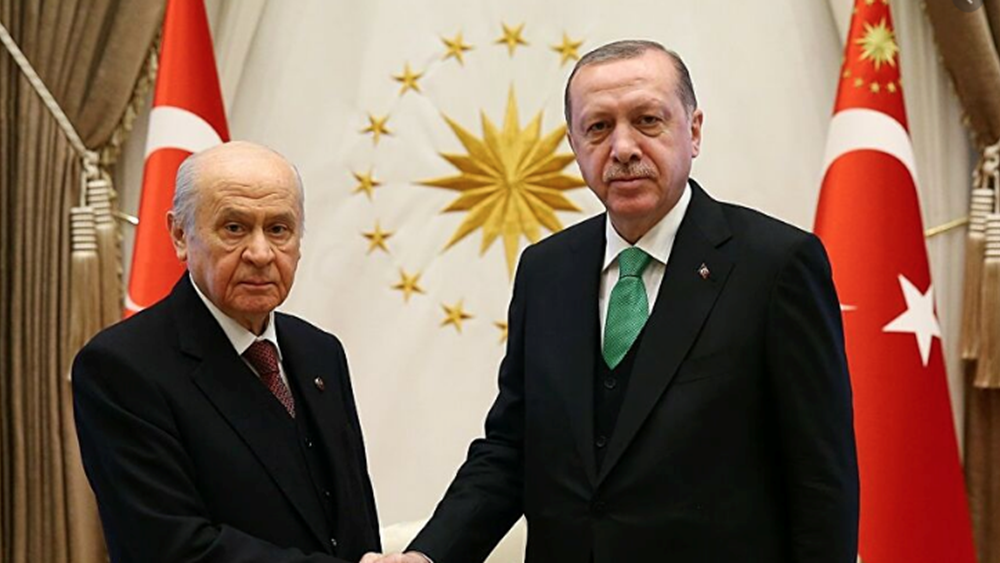 Τουρκία: Δημοσκοπική καθίζηση για τη συμμαχία Ερντογάν-Μπαχτσελί - Στο 26,6% το AKP, μόλις στο 6% το MHP