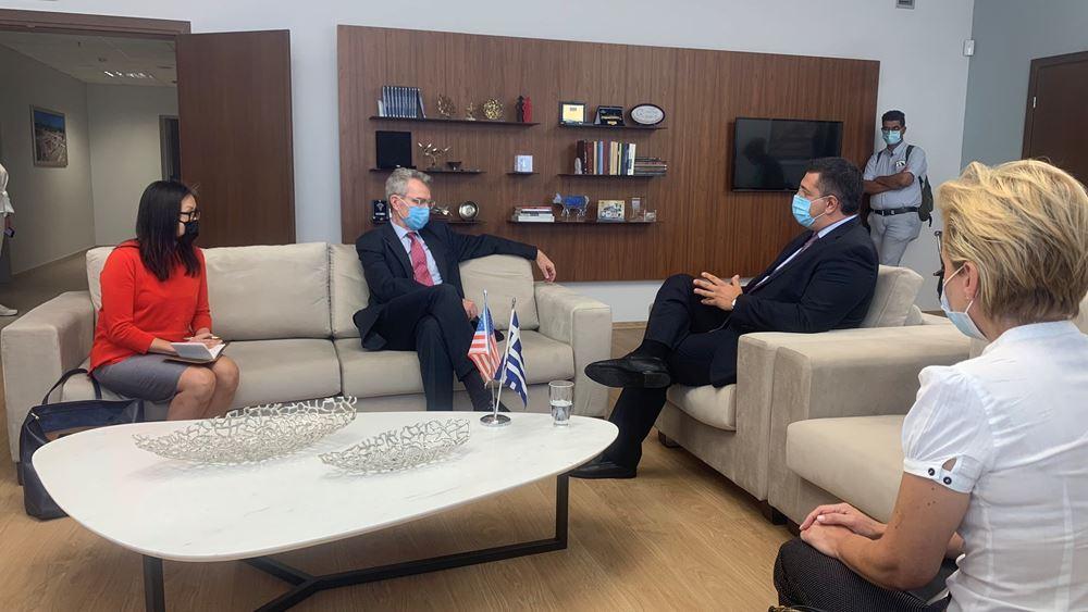 Πρέσβης ΗΠΑ: Είναι μια στρατηγικά σημαντική στιγμή στις σχέσεις ΗΠΑ με τη Βόρεια Ελλάδα
